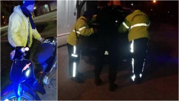 05082019 moto secuestrada a Matías Augusto García x semaf en rojo y sin papeles collage.jpg