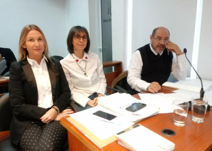 Gisela Cáceres víctima juicio a Baucero