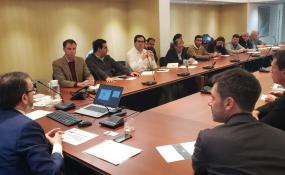 El Intendente Dr. Amadeo Enrique Vallejos se reunió en el Ayuntamiento de Montcada con su Alcaldesa, Laura Campos Ferrer.
