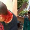 Quedó detenida Rosana Ramirez por agredir a dos periodistas en dos días mientras cubrían audiencias del sacerdote condenado Néstor Monzón.