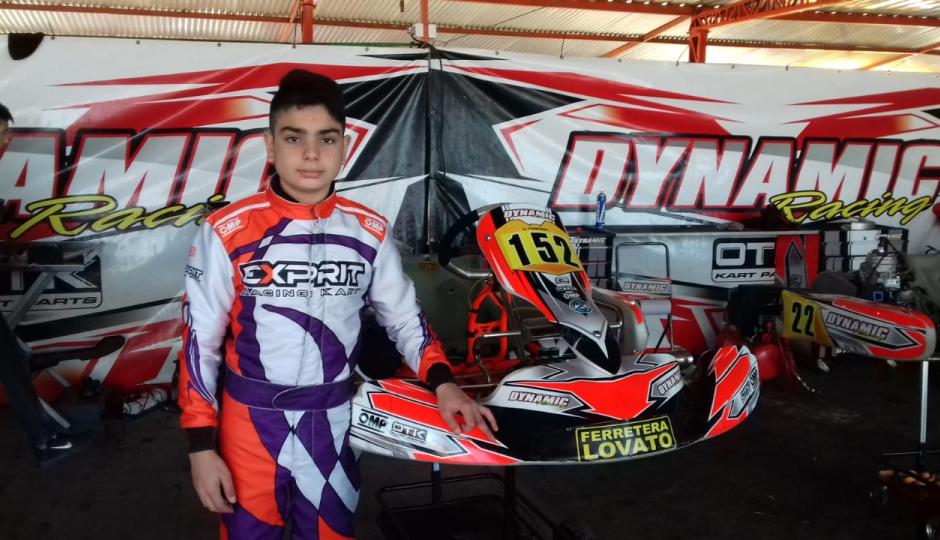 Giuliano Pereson inicia su temporada este fin de semana en Zárate.