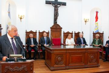 apertura año judicial 2020 Ricardo Gutierrez Omar Perotti Alejandra Rodenas ministros de la corte suprema de justicia.jpeg