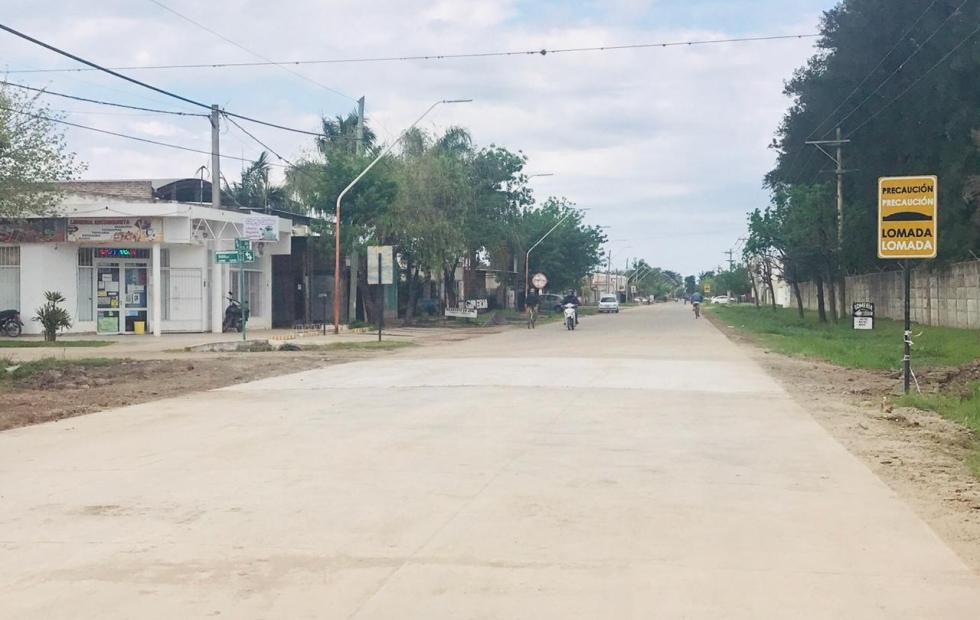 Habilitaron el tránsito en el sector de Olessio y Calle 59