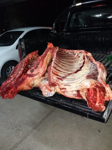 Procedimiento en la carnicería Zorzón.