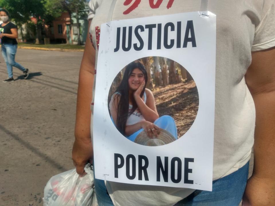 Marcha por Noelia Benítez.