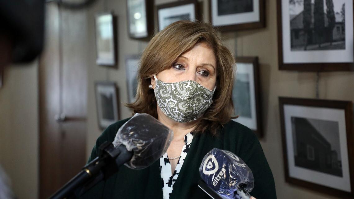 La ministra de Educación, Adriana Cantero.