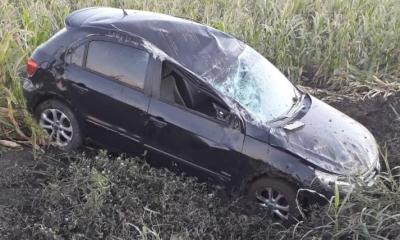 Volcó el automóvil en el que viajaba un joven de la ciudad de Avellaneda.