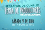 La Feria de productores de Avellaneda festeja su cumpleaños con descuentos y promociones